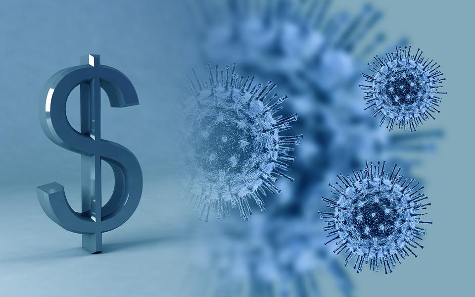 Virus money Image Pixabay 1